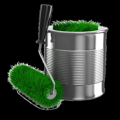 grass roller + can med